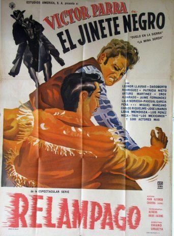 El jinete negro Poster