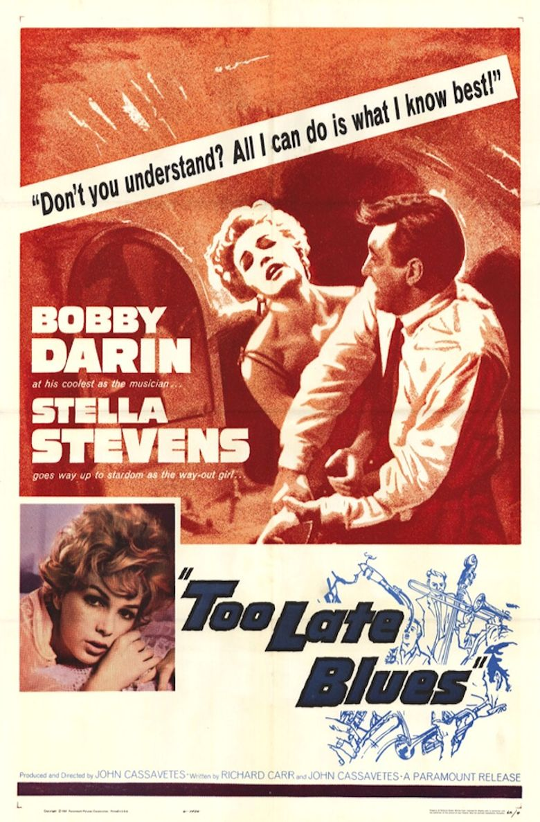 Too Late Blues Poster