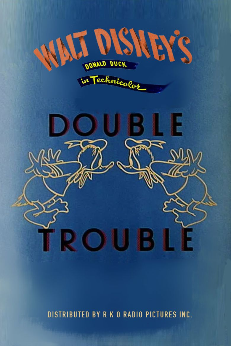 Donald's Double Trouble Poster
