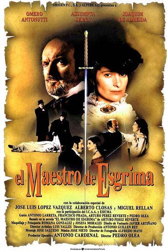 El Maestro de esgrima Poster