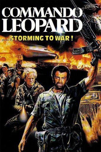 Commando Leopard Poster