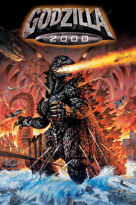 Godzilla 2000: Millennium Poster