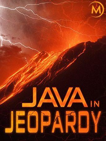 Risiko Vulkan - Der Feuerberg von Java Poster