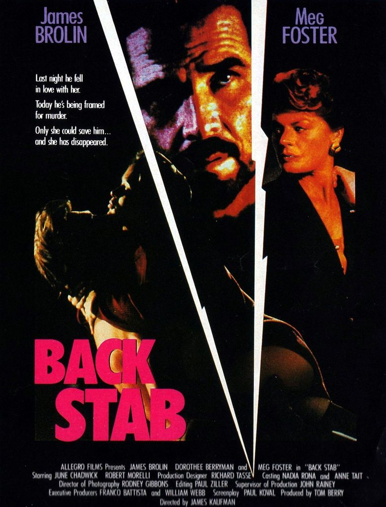 Back Stab Poster