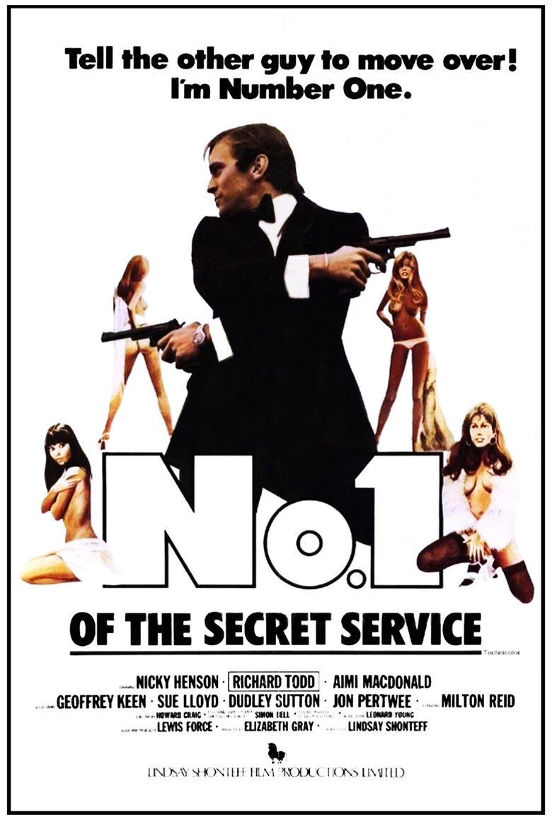 No. 1 of the Secret Service Poster
