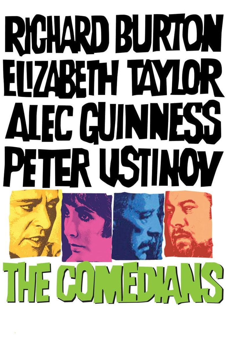 The Comedians Poster