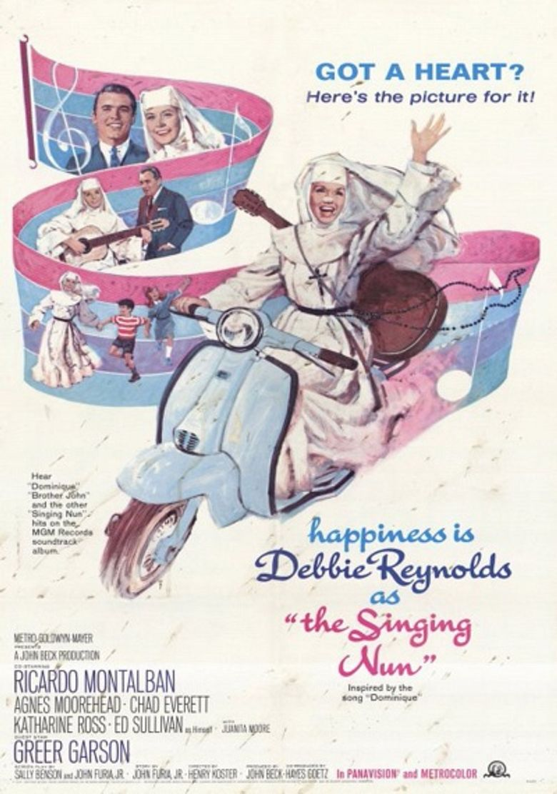 The Singing Nun Poster