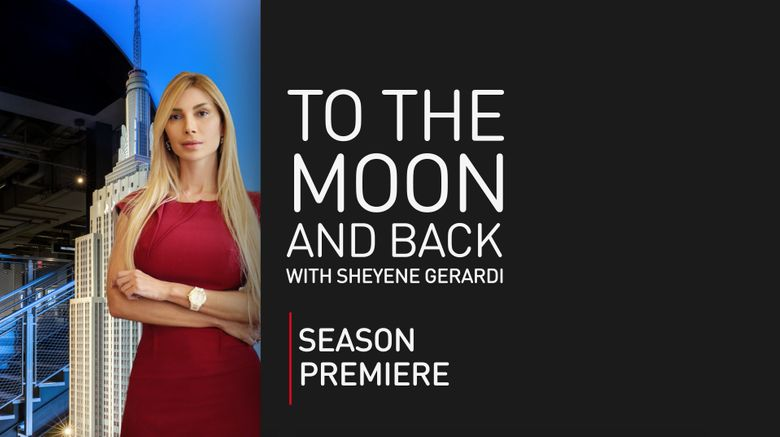To the moon and back with Sheyene Gerardi Poster