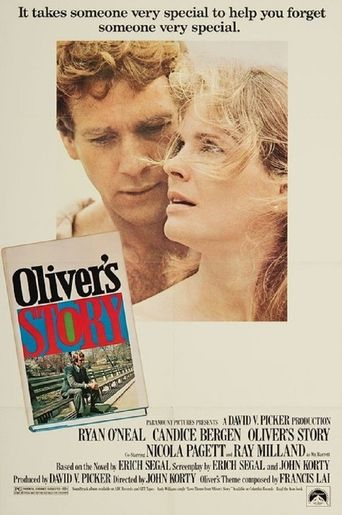 Oliver's Story Poster