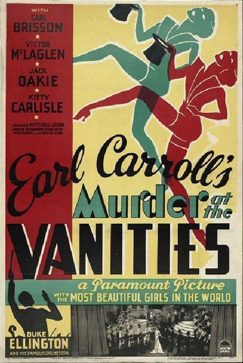 Murder at the Vanities Poster