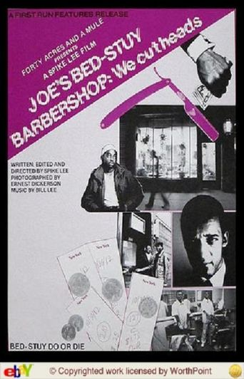 Joe's Bed-Stuy Barbershop: We Cut Heads Poster