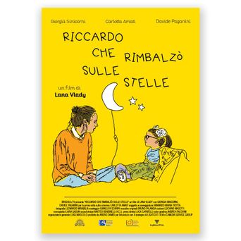 Riccardo that Bounced On to the Stars Poster