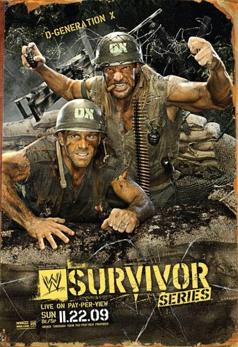 WWE Survivor Series 2009 Poster