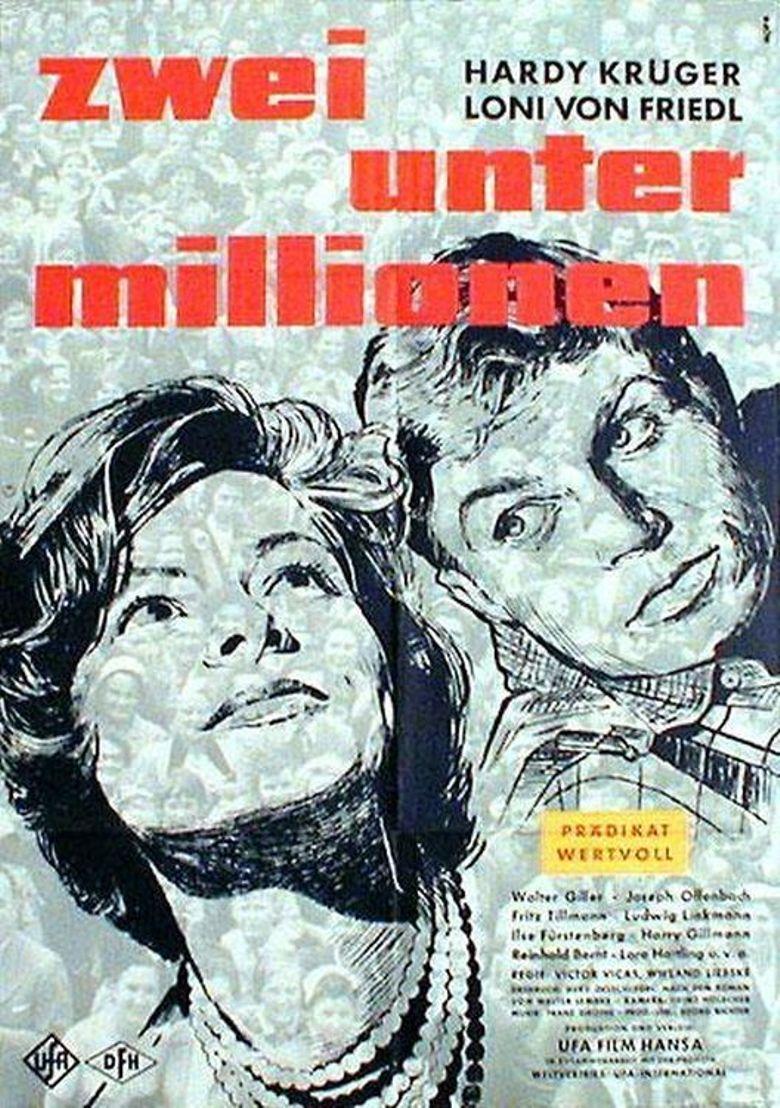 Zwei unter Millionen Poster