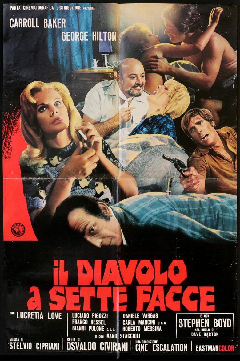 The Devil with Seven Faces Poster