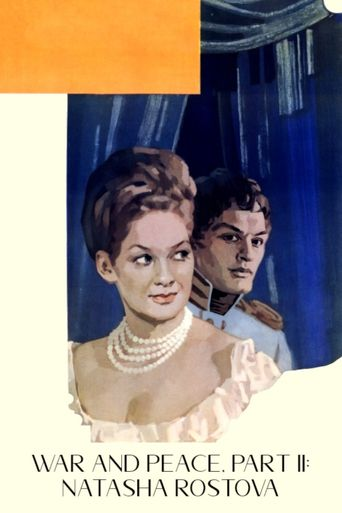 War and Peace, Part II: Natasha Rostova Poster