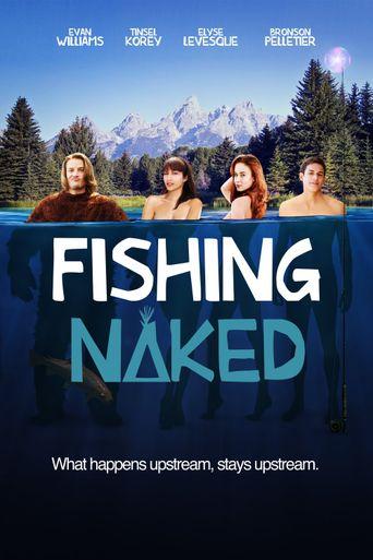 Fishing Naked Poster