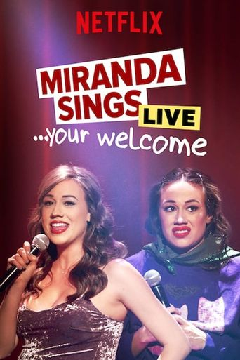 Miranda Sings Live... Your Welcome. Poster