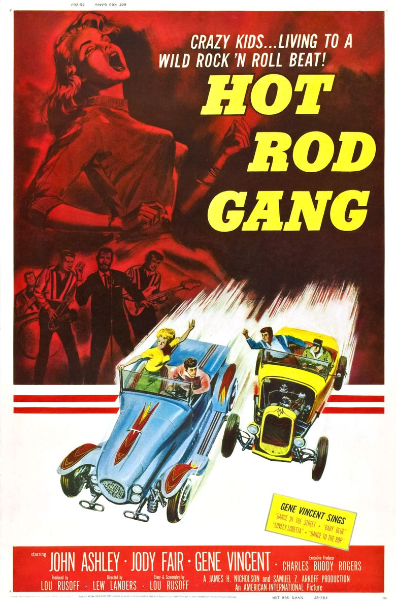 Hot Rod Gang Poster