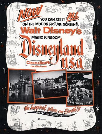 Disneyland, U.S.A Poster