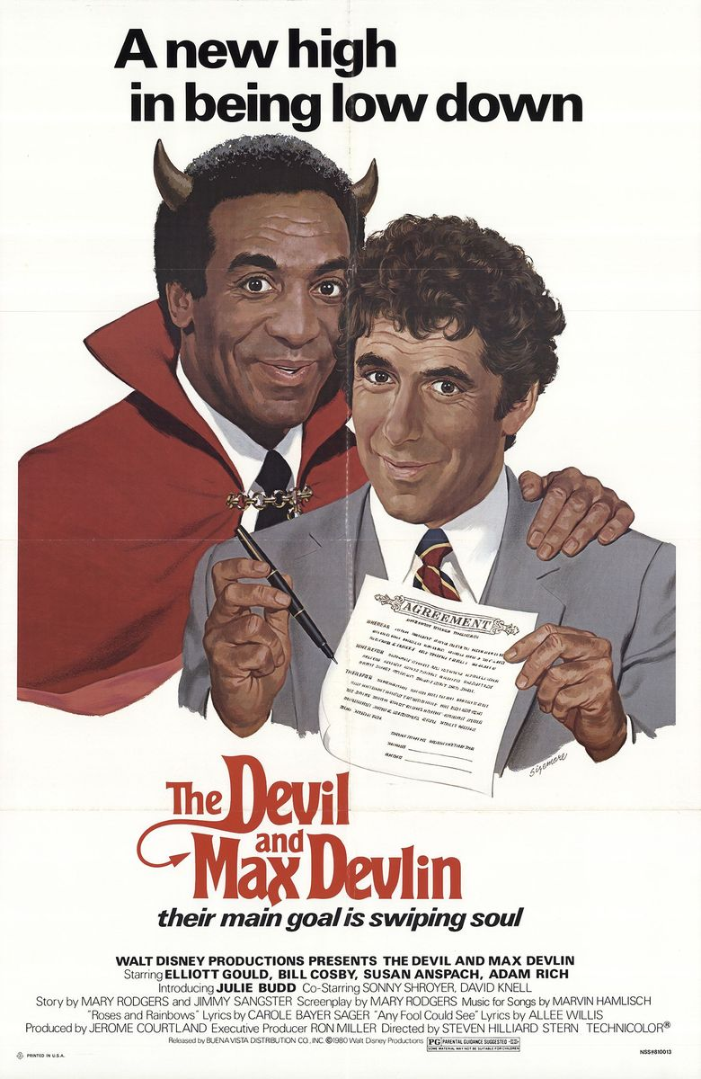 The Devil and Max Devlin Poster