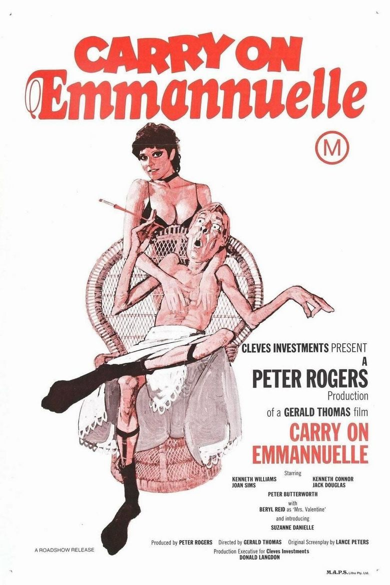 Carry On Emmannuelle Poster