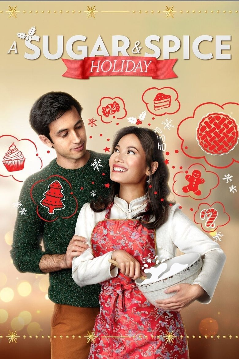 A Sugar & Spice Holiday Poster