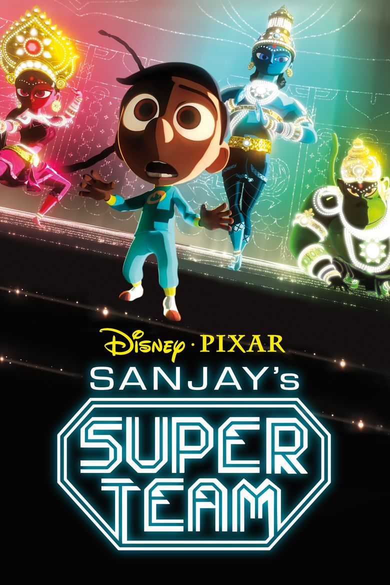 Sanjay's Super Team Poster