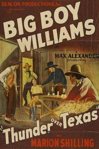 Thunder Over Texas Poster