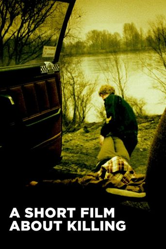 A Short Film About Killing Poster