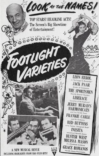 Footlight Varieties Poster