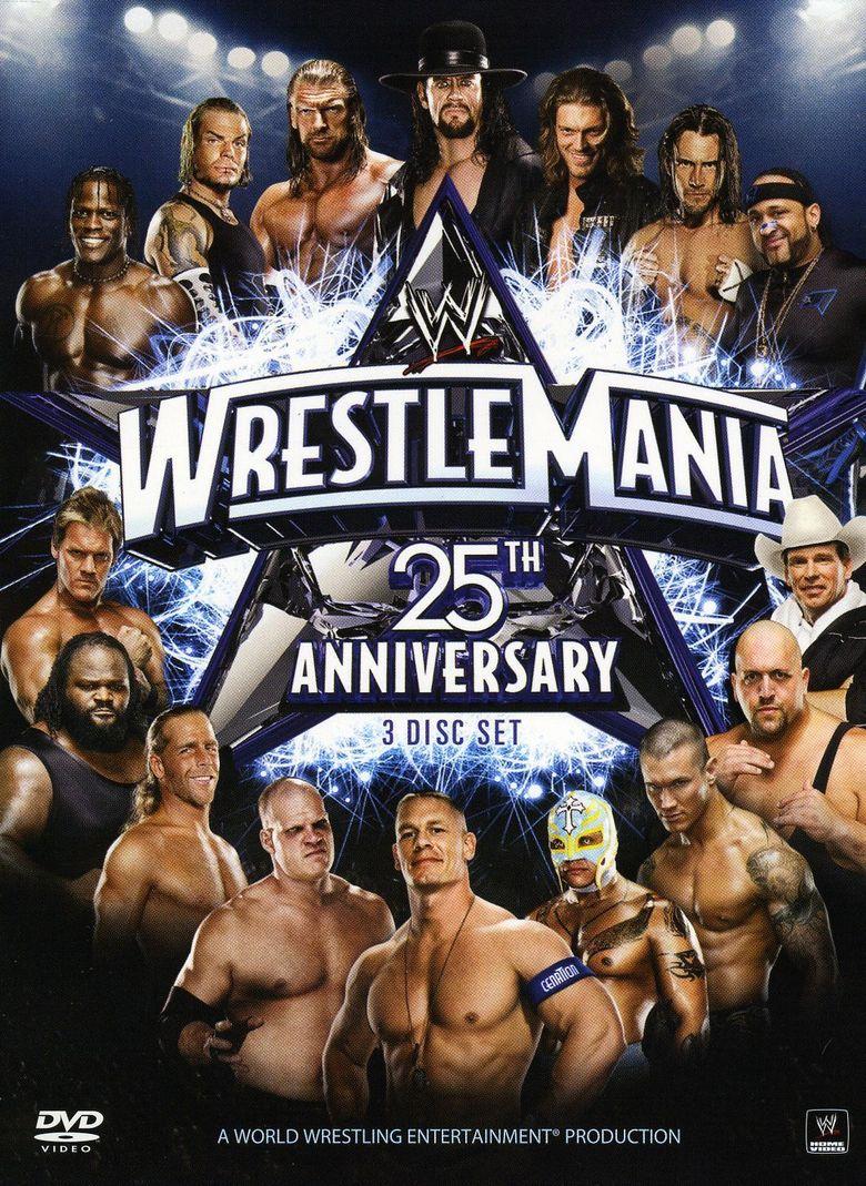 WWE WrestleMania XXV Poster