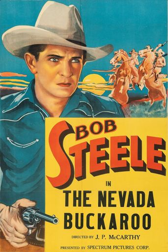 The Nevada Buckaroo Poster