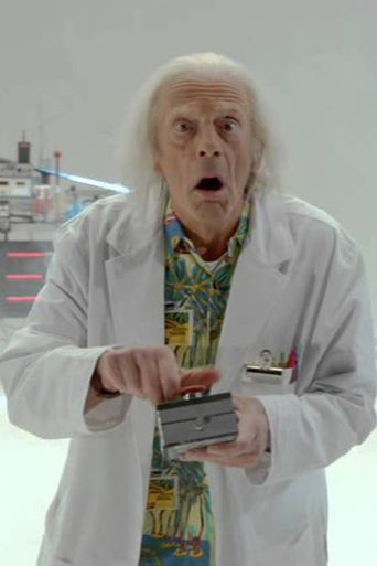 Doc Brown Saves The World Poster
