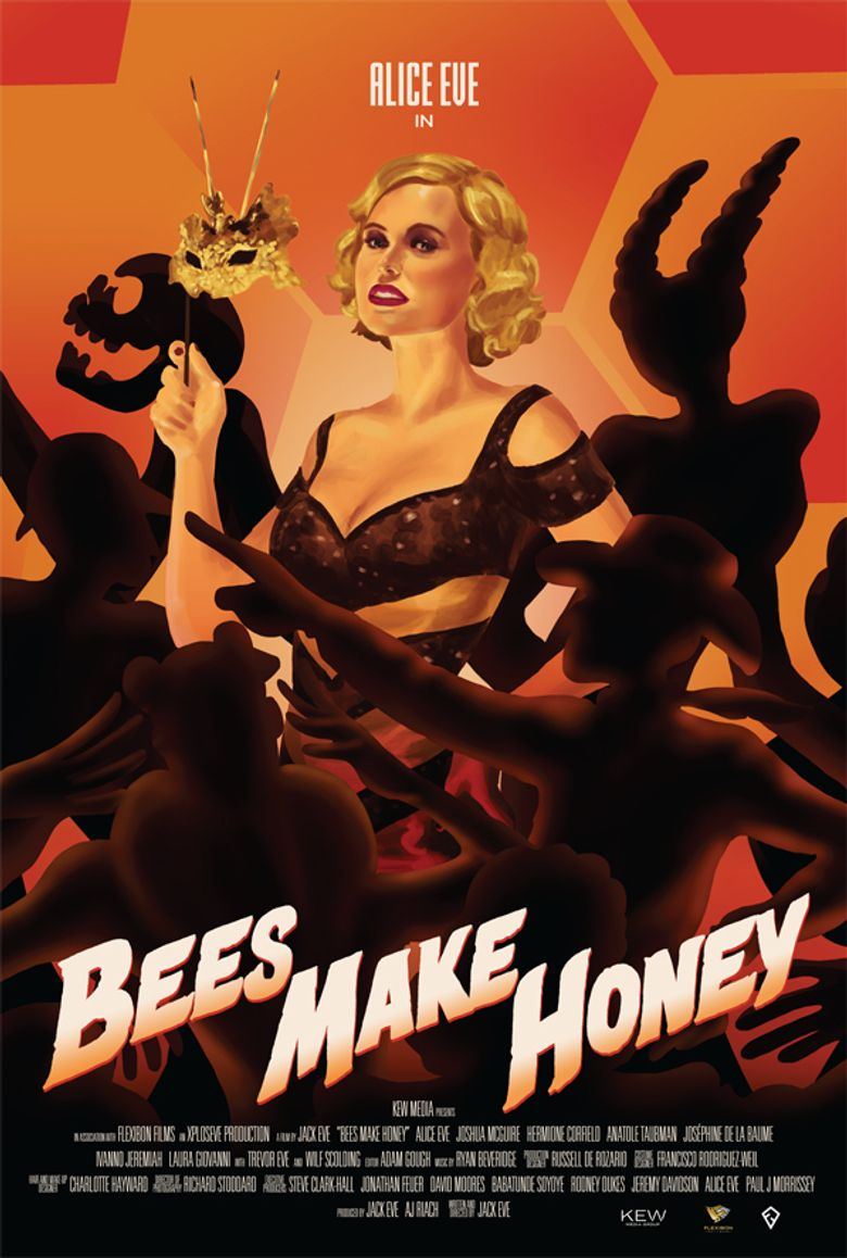 Bees Make Honey Poster