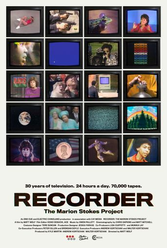 Recorder: The Marion Stokes Project Poster