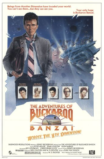 Watch The Adventures of Buckaroo Banzai Across the 8th Dimension
