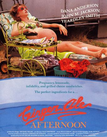 Ginger Ale Afternoon Poster