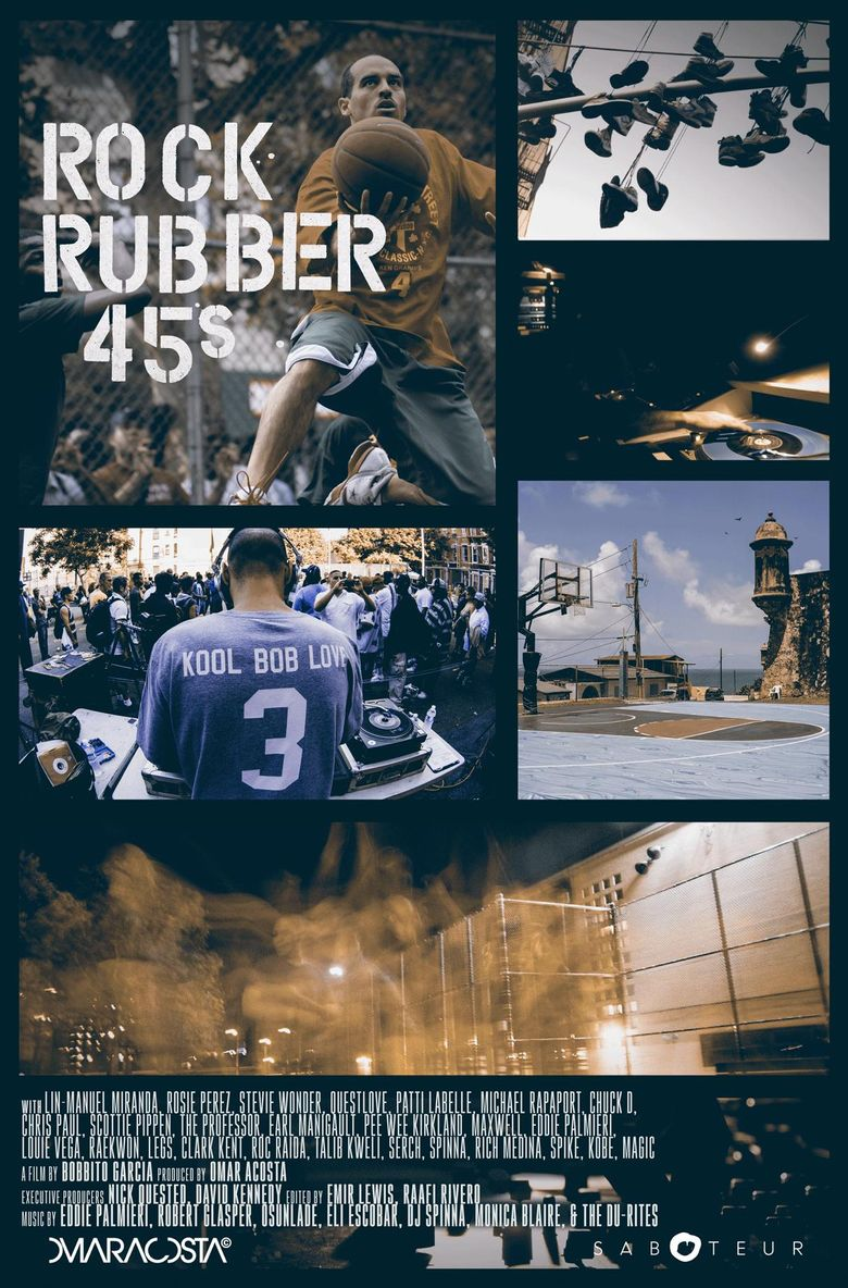 Rock Rubber 45s Poster