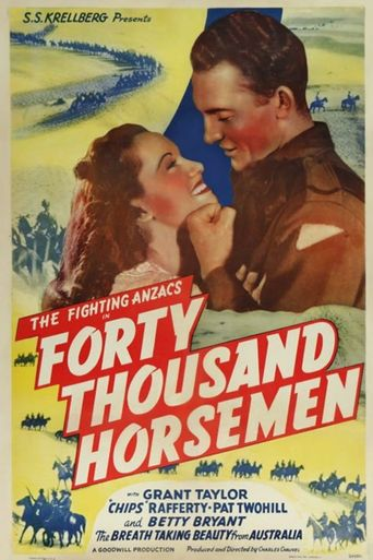 Forty Thousand Horsemen Poster