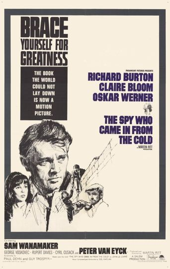 The Spy Who Came In from the Cold Poster