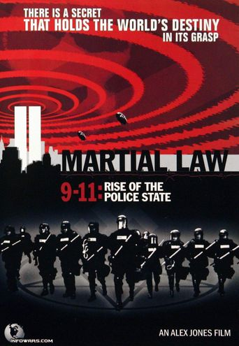 Martial Law 9-11: Rise of the Police State Poster