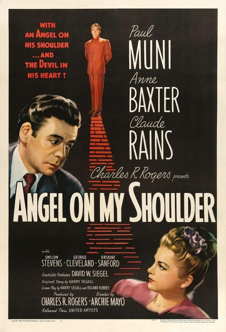Angel on My Shoulder Poster