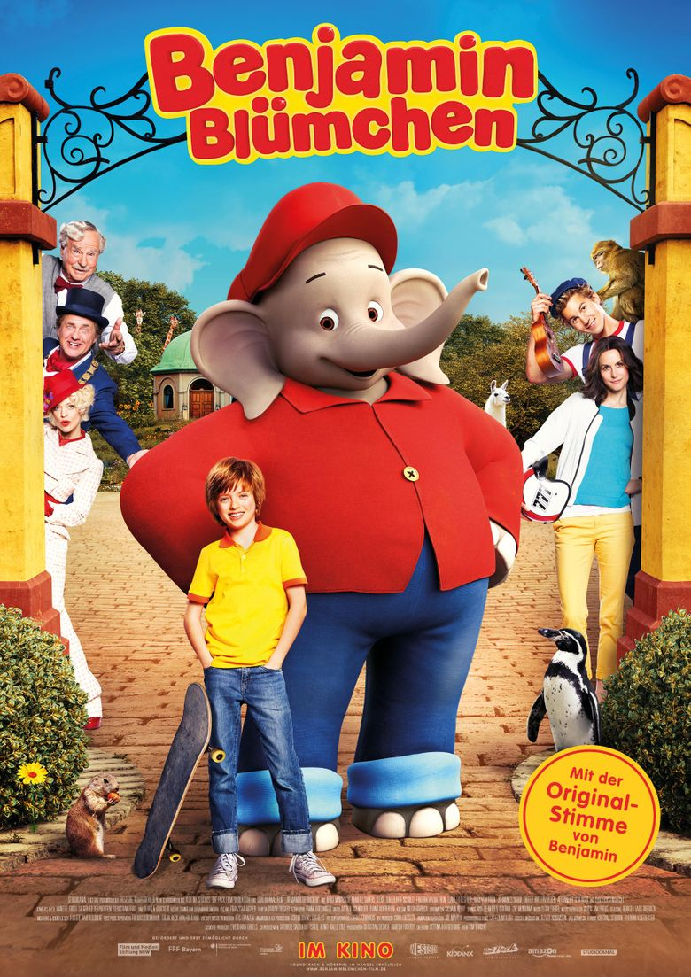 Benjamin the Elephant Poster
