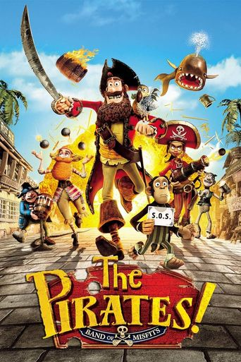 Watch The Pirates! In an Adventure with Scientists!