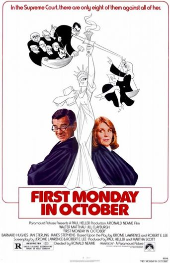 First Monday in October Poster