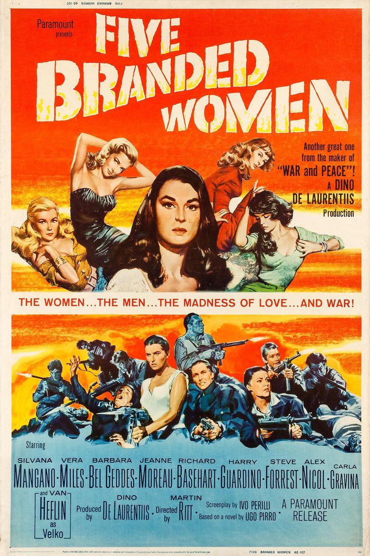 5 Branded Women Poster