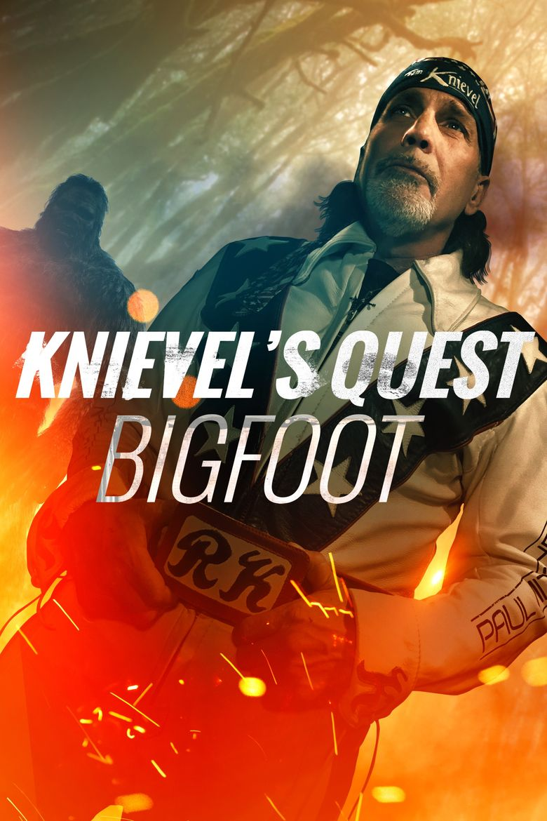 Knievel's Quest: Bigfoot Poster
