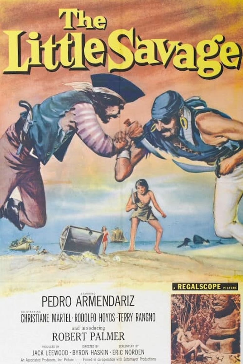 The Little Savage Poster