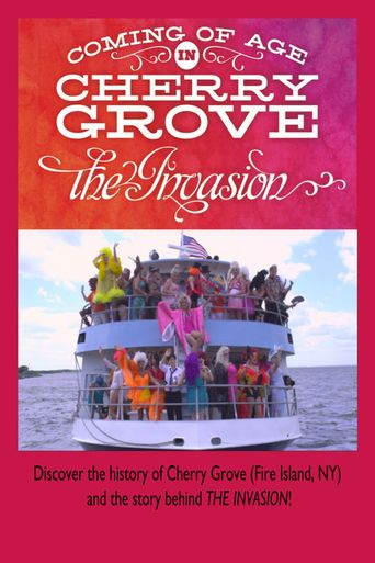 Coming of Age In Cherry Grove: The Invasion Poster